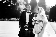 Scotish wedding look